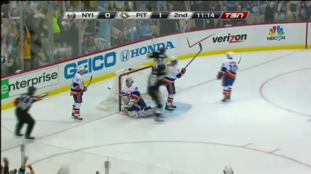 Video «NHL: Highlights Islanders - Pittsburgh» abspielen