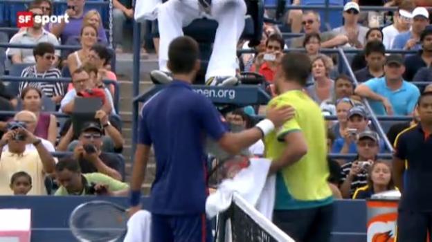 Video «Tennis: US Open, Wawrinka - Djokovic» abspielen