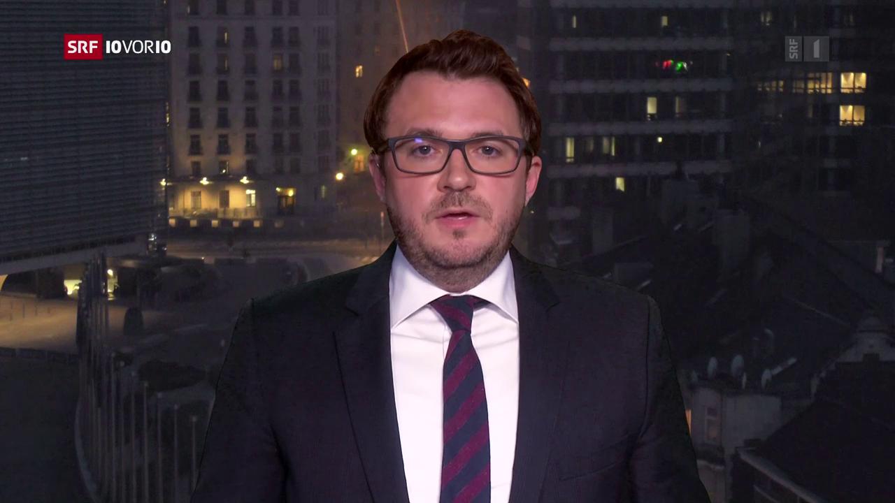 Sebastian Ramspeck, Korrespondent SRF, Brüssel