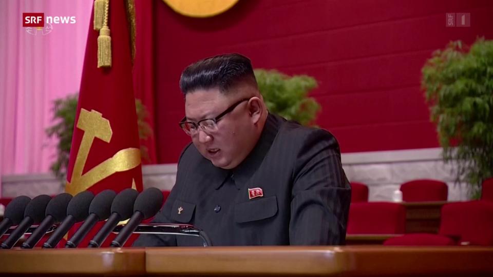 Aus dem Archiv: Kim Jong-un räumt am Parteitag Fehler ein