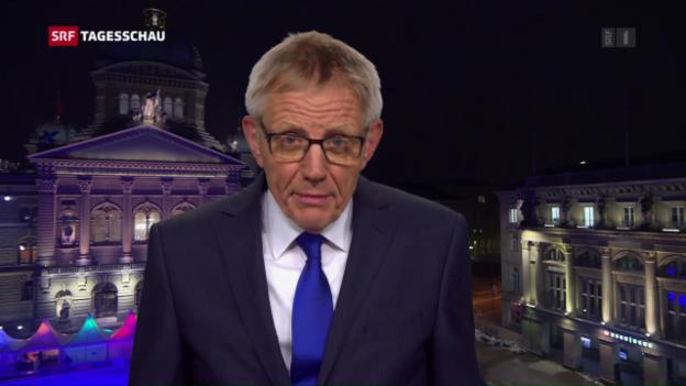 Video «Hanspeter Trütsch: «Glaubwürdigkeit angekratzt.»» abspielen