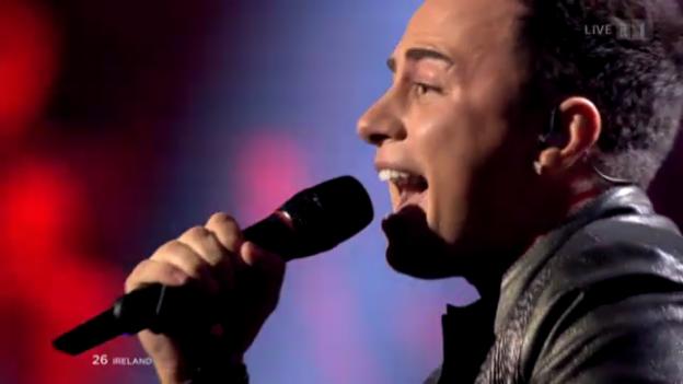 Video «Irland - Ryan Dolan mit «Only Love Survives»» abspielen