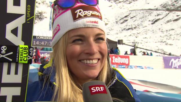 Video «Gut nach ihrem Triumph: «Der 2. Lauf war eine Katastrophe»» abspielen