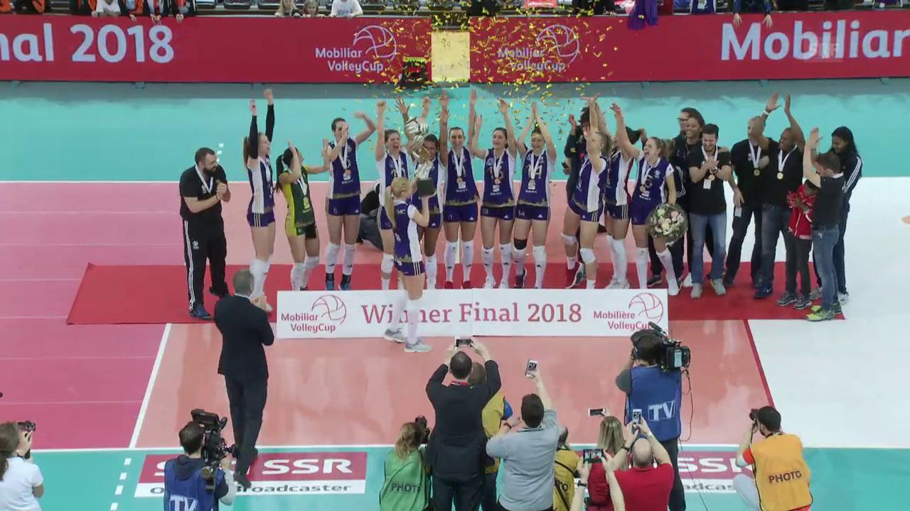 Volero gewinnt wie erwartet den Frauen-Final