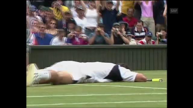 Tennis: Goran Ivanisevic siegt 2001 in Wimbledon (unkommentiert)