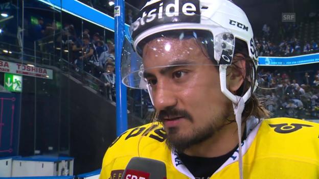 Video «Blum: «Es war ein ausgeglichener Match»» abspielen