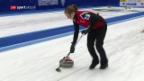 Video «Schweiz gewinnt WM-Titel im Mixed-Curling» abspielen