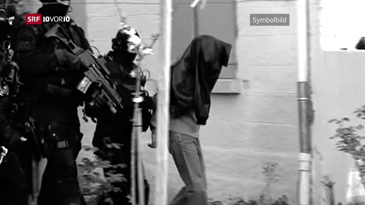 Terrorverdächtige planten Anschläge in der Schweiz