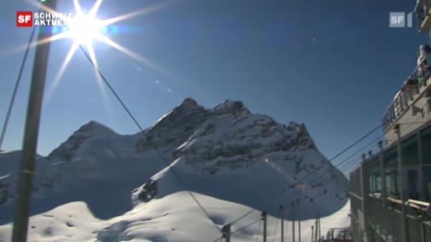 Video «100 Jahre Jungfraubahn» abspielen
