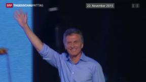 Video «Amtsübergabe in Argentinien» abspielen
