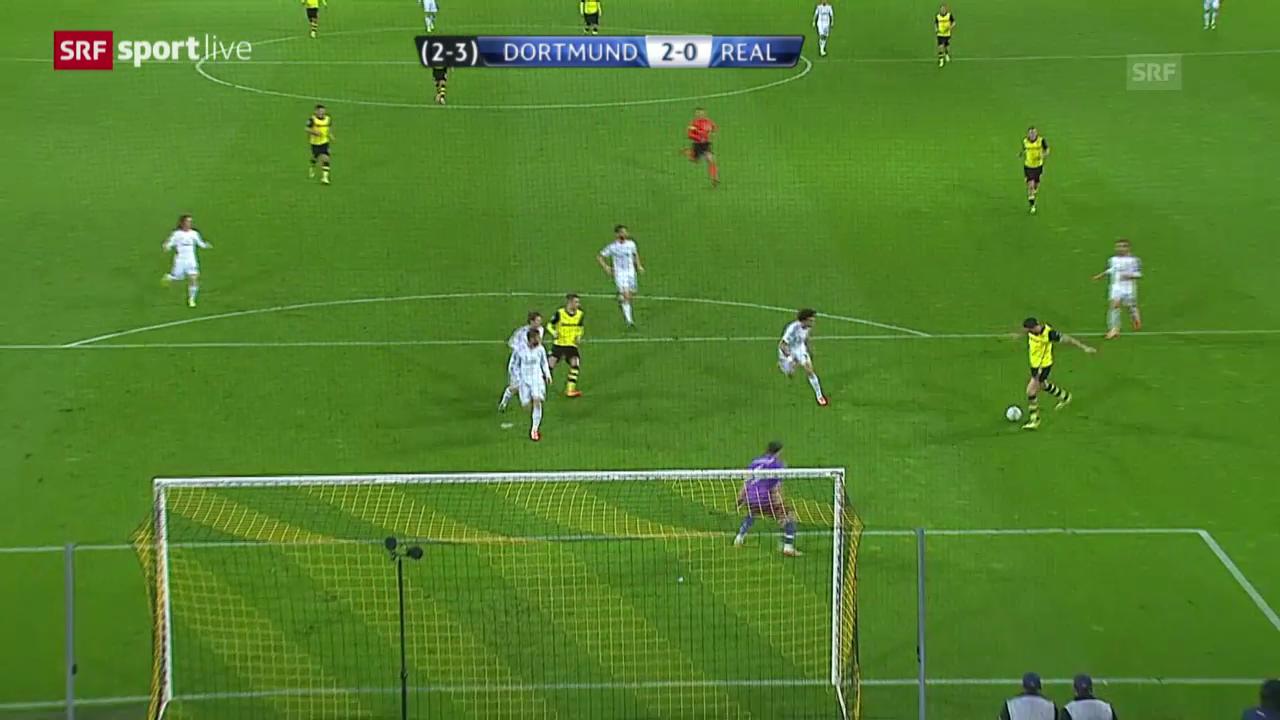 Fussball: Champions League, Viertelfinal-Rückspiel BVB - Real Madrid
