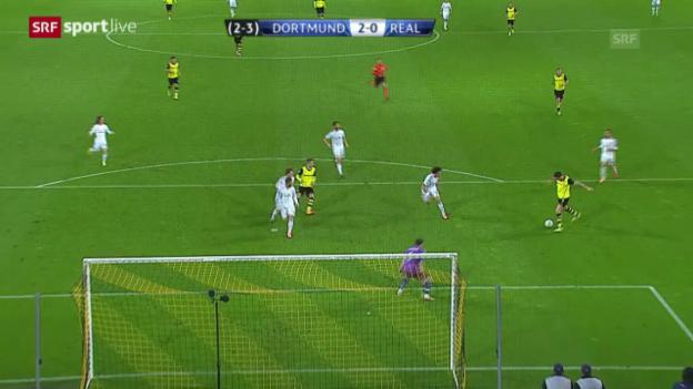 Video «Fussball: Champions League, Viertelfinal-Rückspiel BVB - Real Madrid» abspielen