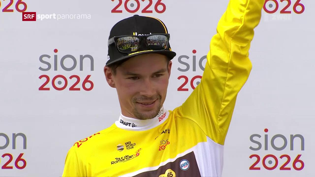 Roglic ist Sieger der Tour de Romandie 2018
