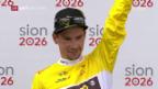 Video «Roglic ist Sieger der Tour de Romandie 2018» abspielen