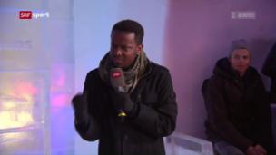 Video «Stand-up-Comedian Charles Nguela über seine Erlebnisse in St. Moritz» abspielen