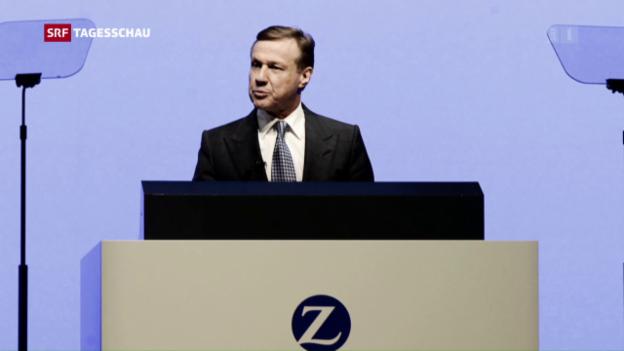 Video «Ehemaliger Zurich-CEO Martin Senn ist tot» abspielen