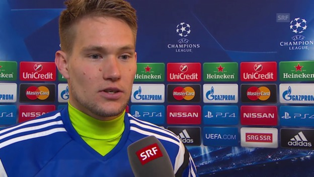 Video «Fussball: Champions League, Porto-Basel, Interview mit Tomas Vaclik» abspielen