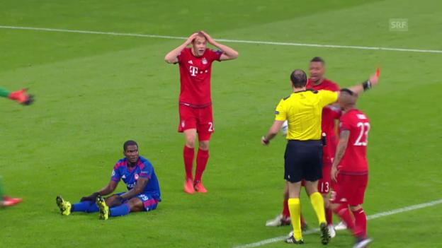 Video «Fussball: Bayern München - Olympiakos Piräus» abspielen