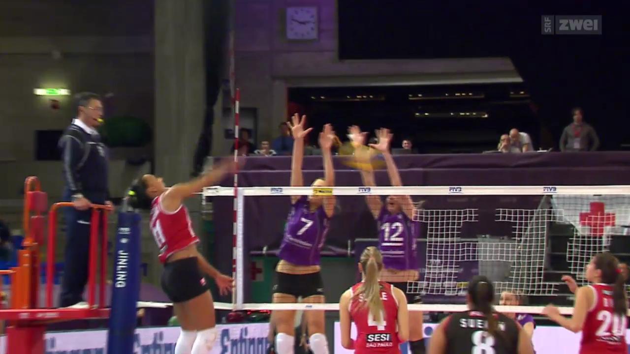 Volleyball: Klub-WM der Frauen in Zürich