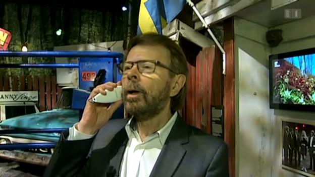 Video «Björn Ulvaeus zeigt das Abba-Museum» abspielen