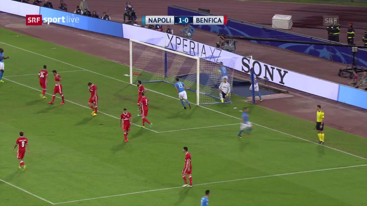 Napoli bekundet mit Benfica keine Mühe