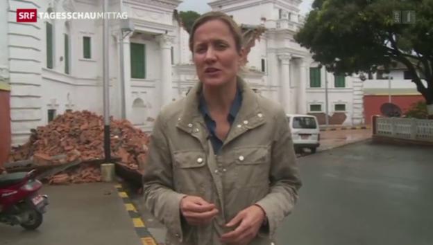 Video «Nepal nach der Katastrophe» abspielen