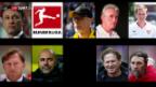 Video «Martin Schmidt und das drehende Trainerkarussell» abspielen