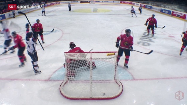 Video «Eishockey: CHL Bern - Linkoeping» abspielen