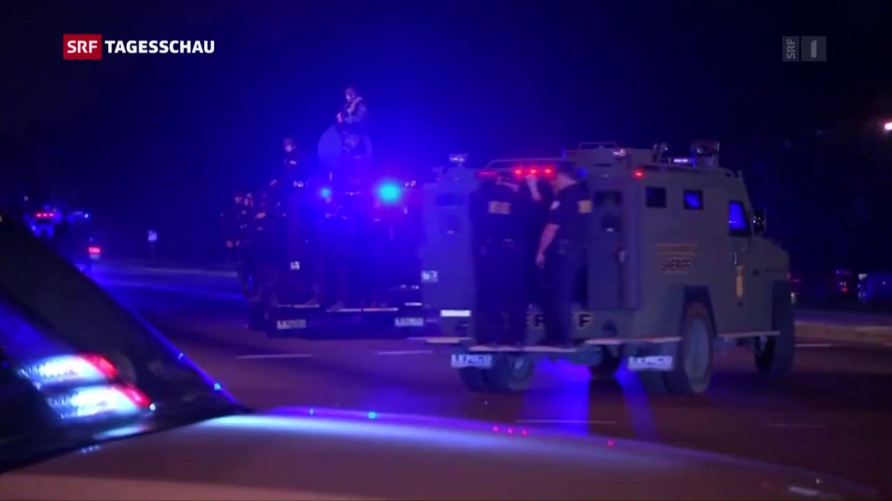 US-Polizei: «Wir werden nicht zum Angriffsziel»