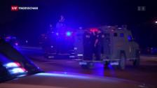Video «US-Polizei: «Wir werden nicht zum Angriffsziel»» abspielen