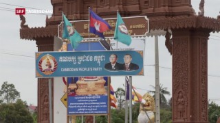 Video «Demokratieloses Kambodscha» abspielen