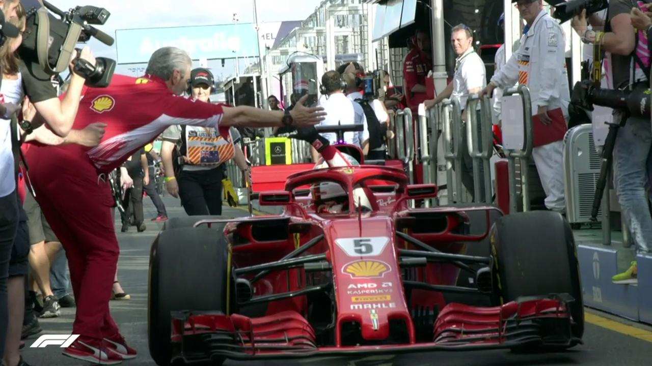 Vettel-Sieg dank glücklichen Umständen