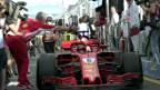Video «Vettel-Sieg dank glücklichen Umständen» abspielen