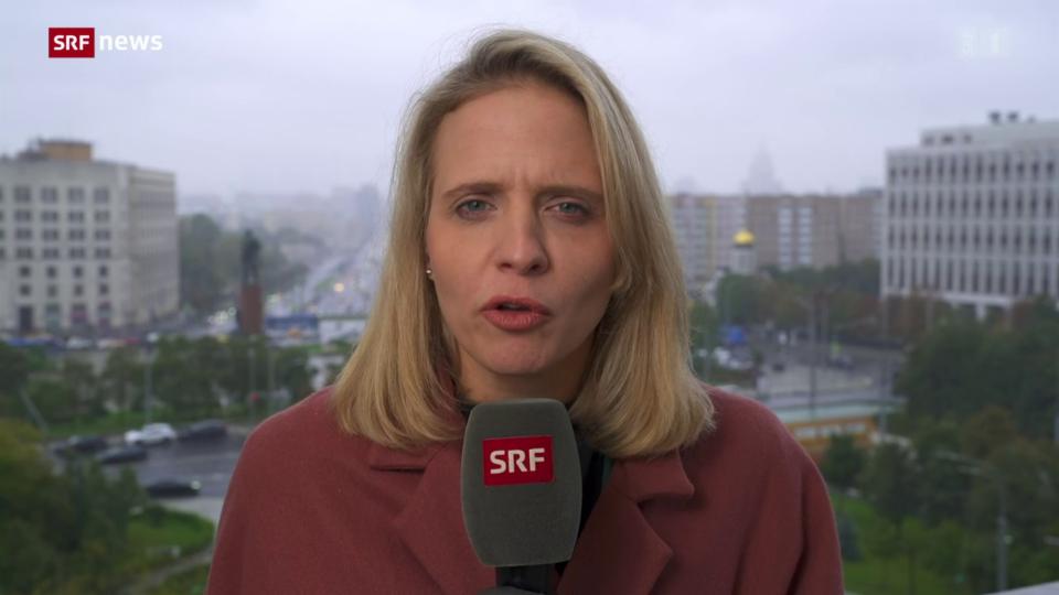 Einschätzung von Russland-Korrespondentin Luzia Tschirky