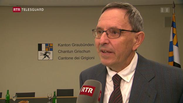 Laschar ir video «Regenza grischuna cler cunter iniziativa «NO-Billag»»