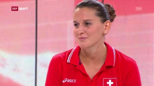 Video «Kristel Marbach im Gespräch («sportpanorama»)» abspielen
