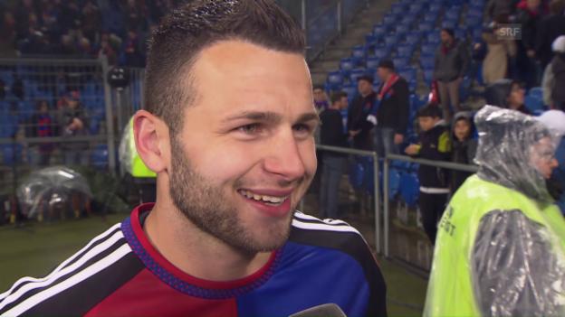 Video «Renato Steffen im Interview nach dem Meistertitel mit Basel» abspielen