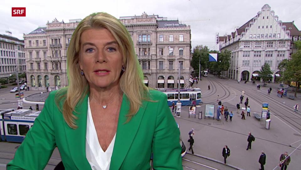 SRF-Wirtschaftsredaktorin Marianne Fassbind über den neuen CS-Chef