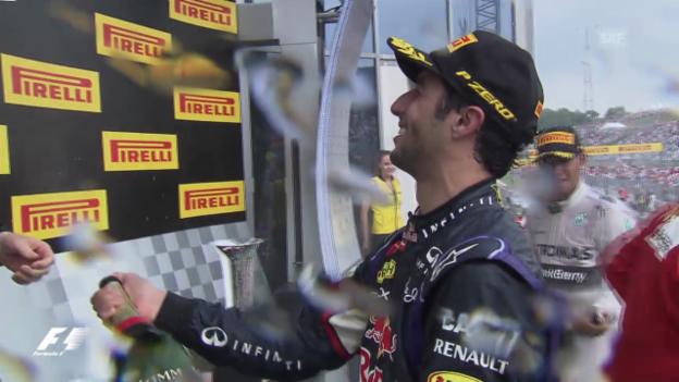 Video «Formel-1-Zwischenbilanz» abspielen