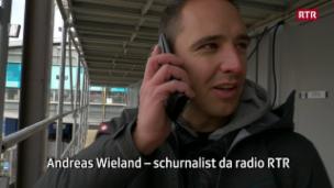 Laschar ir video «Backstage a Pyeongchang cun Andreas Wieland»