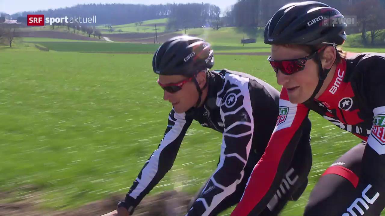 Küng und Dillier vor der Flandern-Rundfahrt