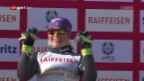 Video «Tessa Worley holt Gold im Riesenslalom» abspielen