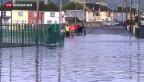 Video «Europa im Bann zweier Sturmtiefs – Sorge wächst» abspielen