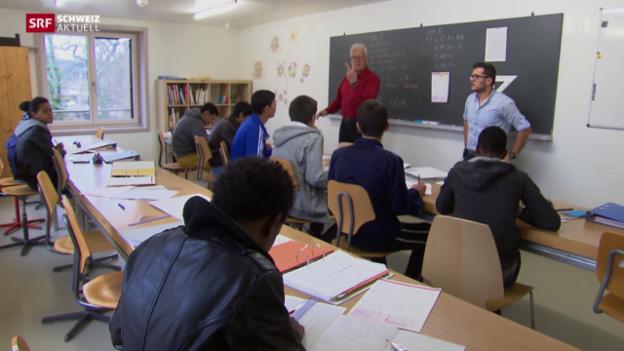 Video «St. Gallen am Anschlag mit Betreuung minderjähriger Flüchtlinge» abspielen