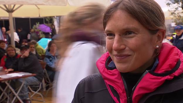 Video «Simone Niggli-Luder über ihr neues Leben» abspielen