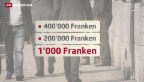 Video «Hohe IV-Renten für Banker» abspielen