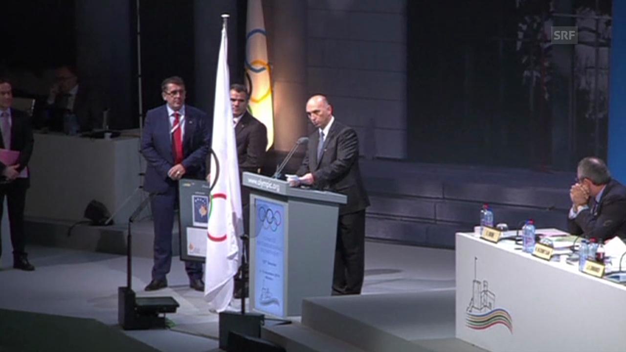 Olympia: IOC anerkennt Kosovo