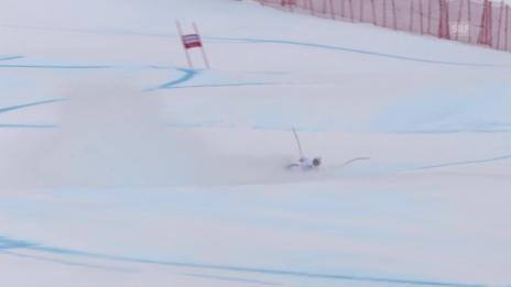 Video «Ski: Sturz Caviezel Abfahrt Saalbach» abspielen