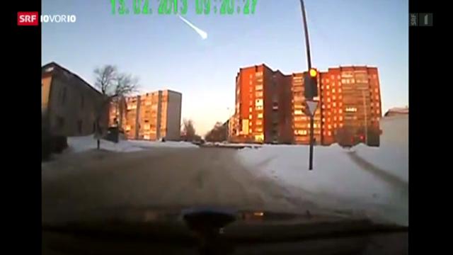 Meteoritenschauer trifft Zentralrussland