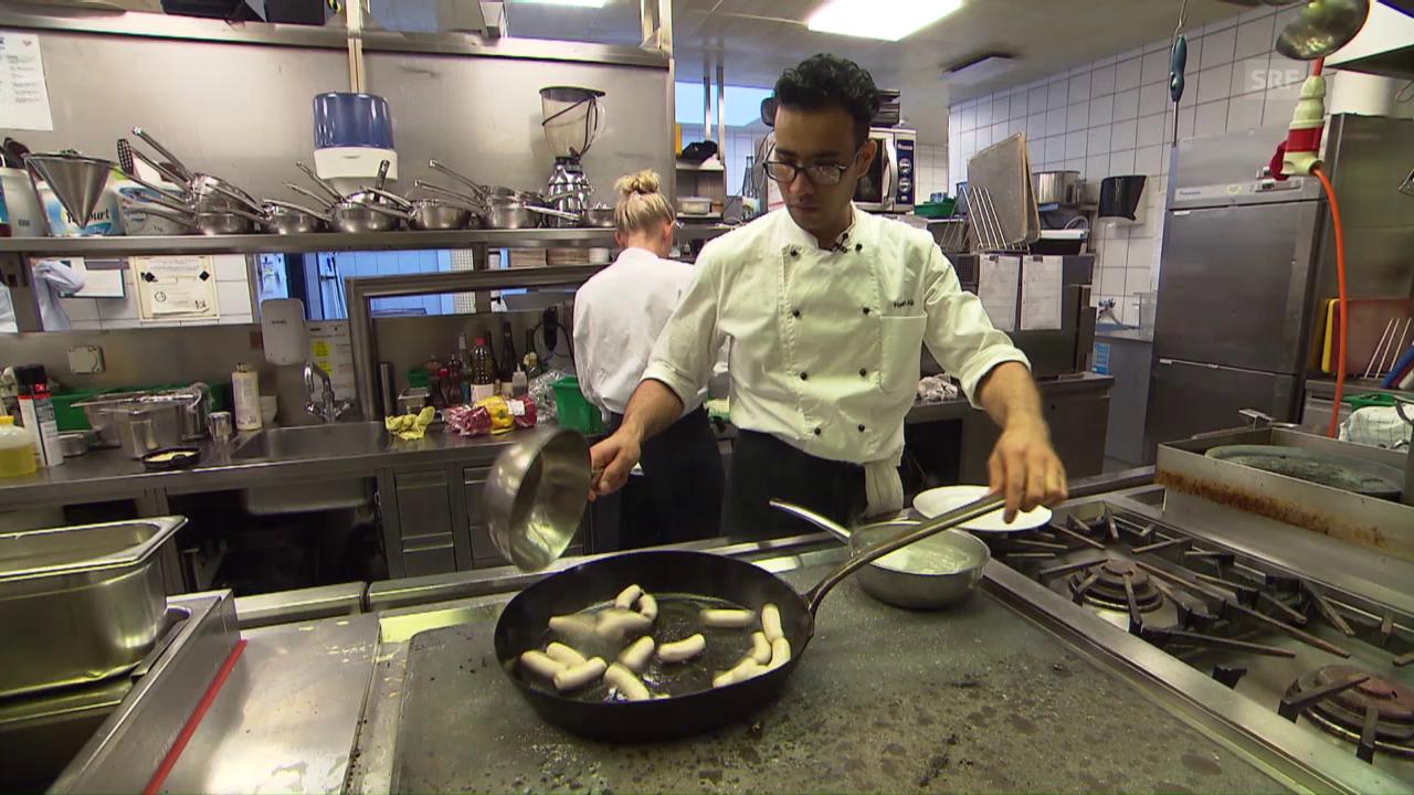 Vom Flüchtling zum Lehrling: Ali Heidari und sein Küchenchef
